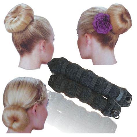 fashion magic hair styling bun 2pcs fashion hair magic hair curlers style bun