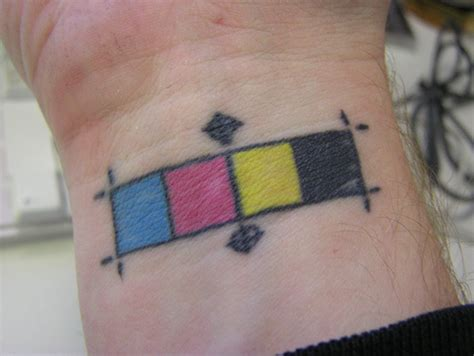 cmyk tattoo cmyk tattoos liz andrade