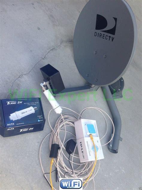 dish biquad wifi antenna tlnalfa poe tube