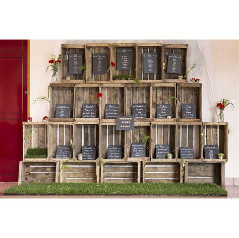 table caisse en bois caisse en bois 212 bonheur des wedding designer 224