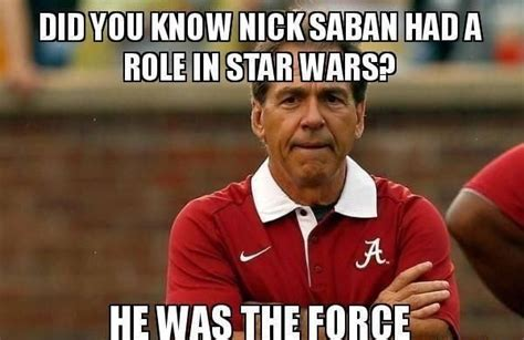 Nick Saban Memes - pin by beth bryant on roll tide pinterest