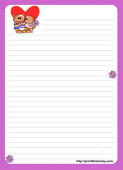 love letter stationery png writing paper