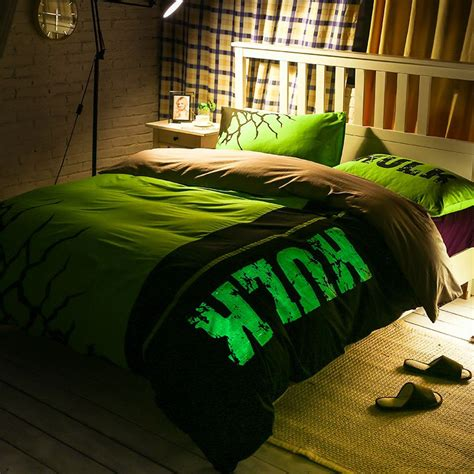 hulk comforter incredible hulk bedding set queen size for teen ebeddingsets