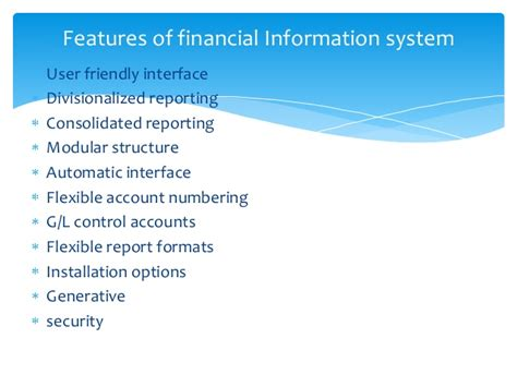 Mba Information Systems Opportunities by Types O F Information Systems