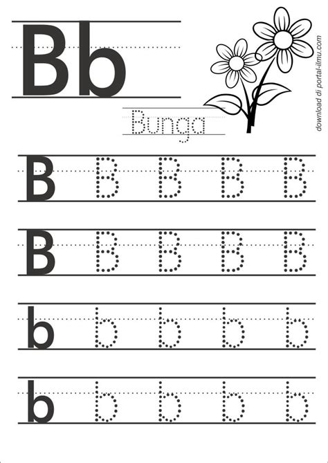 Buku Anak Paud Dan Tk Belajar Menulis Abjad Huruf belajar menulis huruf dengan huruf titik titik portal ilmu