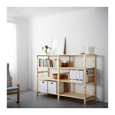 IVAR 2 secciones/baldas   IKEA