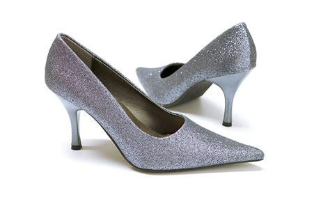 Goldene Schuhe Hochzeit by Silberne Pumps Hochzeits Schuhe