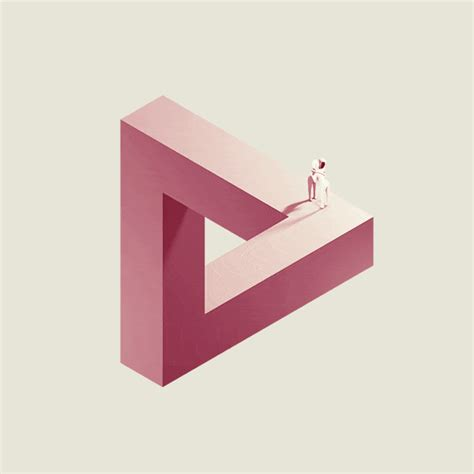 animated gifts penrose triangle hug gif find on giphy