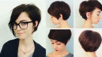 cortes de cabello corto dama peinados para cabello corto