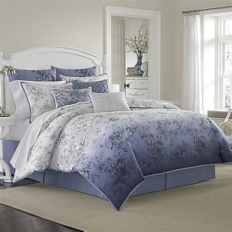 laura ashley twin comforter sets buy laura ashley 174 twin delphine comforter set from bed