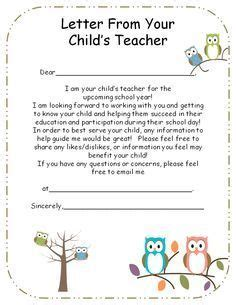 thank you letter to parents for always being there introduction letter to parents from preschool