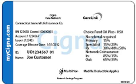 cigna insurance gallery for gt cigna card