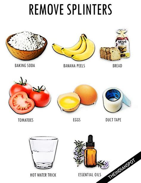 How To Remove Splinters With Ease by 15 Best Remove Splinters Images On Remove