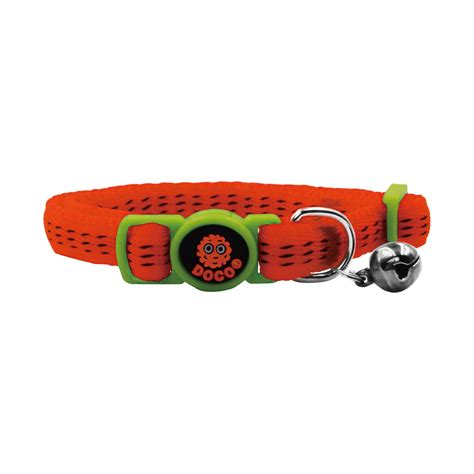Doco Cat Collar Kalung Kucing doco 174 cat collar orange www docopet