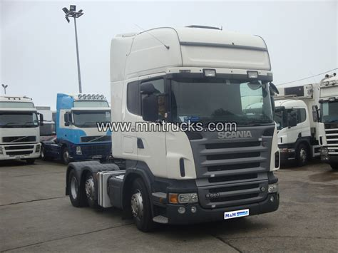 scania r560 6x2 tractor unit 2007 for sale in newry co