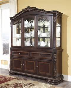 Hutch Cabinets Dining Room by D678 81 Ashley Furniture Wendlowe Dining Room Hutch