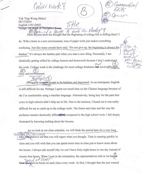 good essay topics for high school personal narrative essay examples