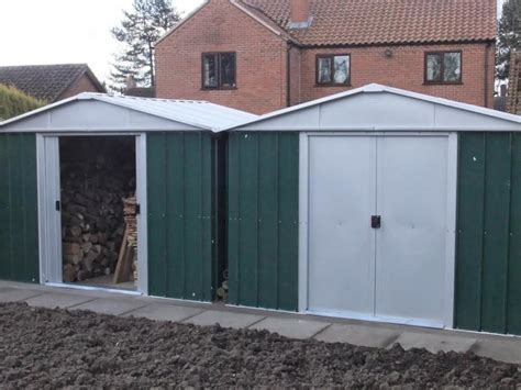 Used Sheds For Sale Uk by 108geyz 10ft X 8ft Metal Shed Gardensite Co Uk