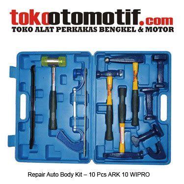 repair auto kit 10 pcs ark 10 wipro alat ketok service mobil kode 021376 nama