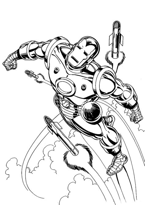 ironman coloring page pdf free coloring pages of iron man mark 2