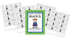 1000 Images About Classroom Super Hero Theme Pbis On Pinterest Superhero Brag Tags And Pbis Bucks Template
