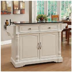 view white granite top kitchen cart deals at big lots