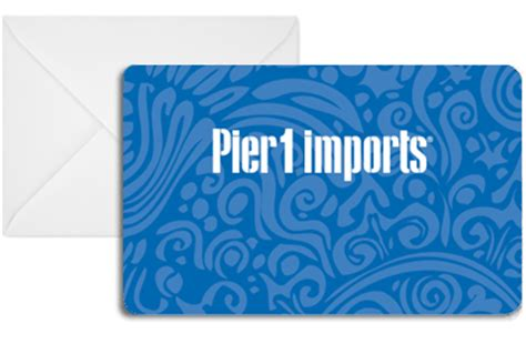 Pier One Gift Card - pier 1 imports gift card check your balance buy gift cards online
