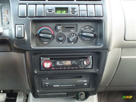 Home Interior Shows 1998 Isuzu Trooper S 4x4 Controls Photos Gtcarlot Com
