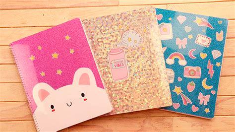 ideas para decorar libretas bonitas decora tus cuadernos 3 ideas s 218 per bonitas cookies in