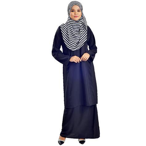 Baju Kurung Pahang Cotton Plain cotton silk baju kurung pahang end 7 28 2019 4 41 pm