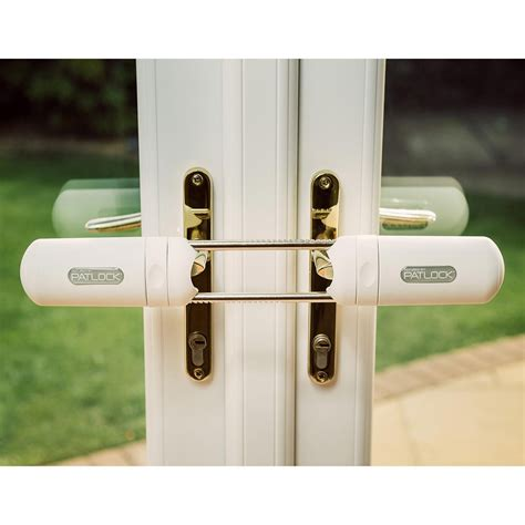 Owl Protect Patlock Security Lock For Patio Or French Patio Doors Security Locks