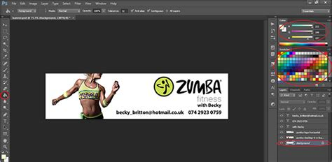 design banner with photoshop how to design a banner in photoshop