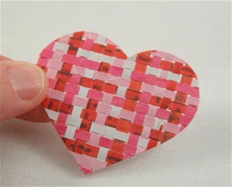 How To Make Woven Paper Hearts - be different act normal classroom