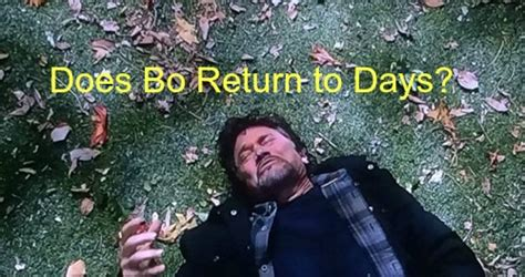 photo days of our lives peter reckell return as bo days of our lives spoilers spoilers peter reckell talks