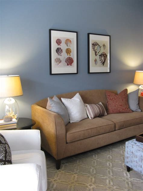Neutral Living Room Houzz Geometric Rug With Neutral Tones Eclectic Living Room