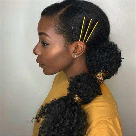 gel ponytail hairstyles 10 gorgeous natural hair ponytail styles to try the