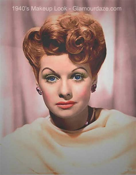lucille ball s retro beauty look is no laughing matter best 25 1940s makeup ideas on pinterest 40s makeup