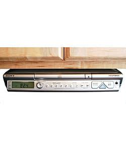 icfcdk50 sony cabinet kitchen cd clock radio at abt