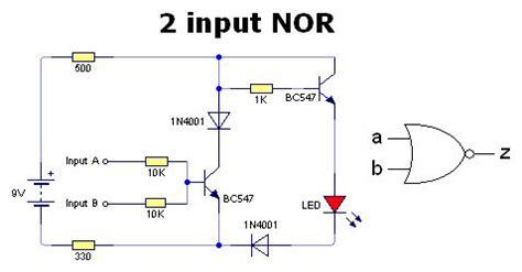 npn transistor logic gate digital logic gates just using transistors