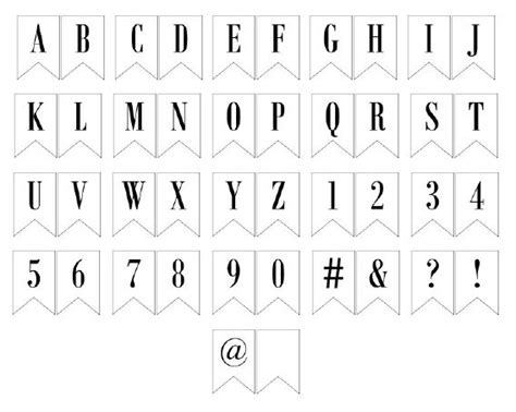 letter templates for banners free free printable banner letters printable banner letters
