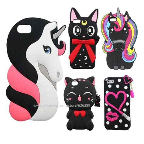 3d Minnie Mouse Iphone 5 5g 5s Karakter Disney Silikon Rubber 4 for iphone 5s silicone 3d unicorn cat