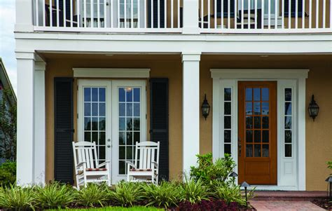 Dutch Colonial House Style by Villa Exterior Doors And Windows In White 3d House Free