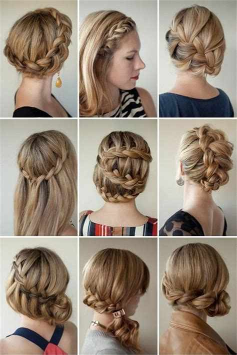 imagenes de varias trenzas 1001 ideas de peinados de fiesta atractivos y femeninos