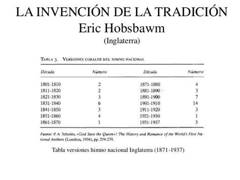 la invenci 243 n de la tradici 243 n