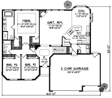 Rambler Floor Plans With Bonus Room Best 25 House Plans Design Ideas On Pinterest House