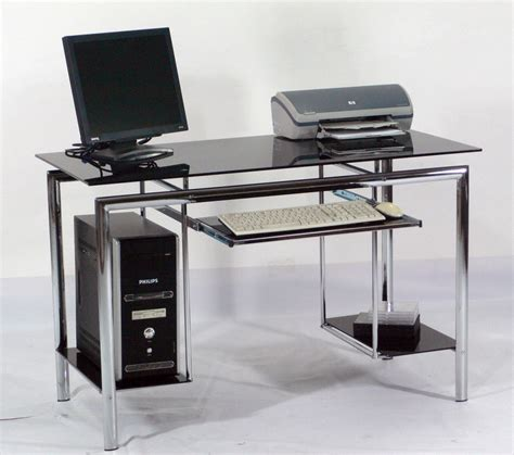 desktop computer desk why glass computer desks are the trend of this year