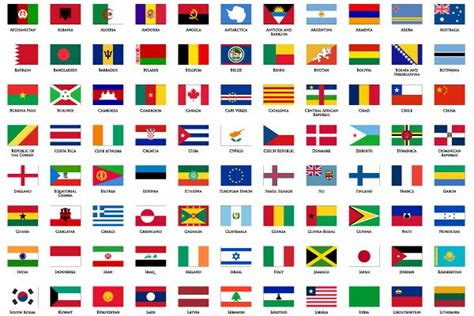 flags of the world vector world flags vector icons got vectors