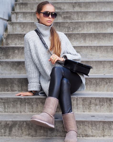 Sweat Pant Hm Summer Collection stylish ways to wear uggs this winter glam radar