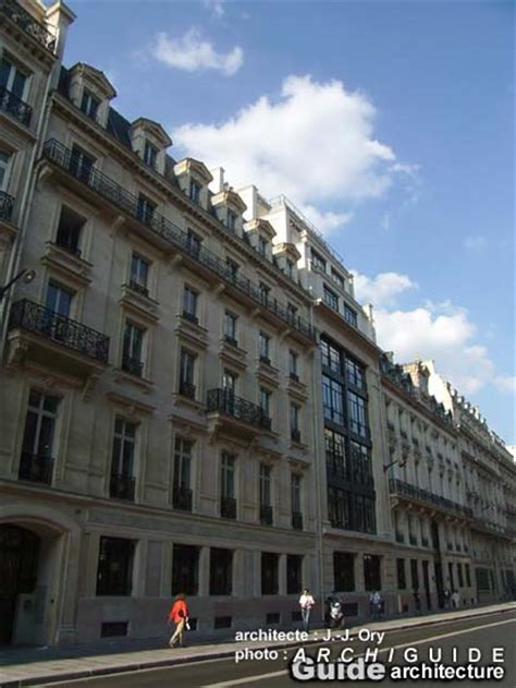 galeries lafayette siege jean jacques ory archiguide