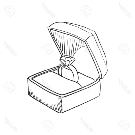how to draw wedding rings photostock vector vector doodle wedding ring with